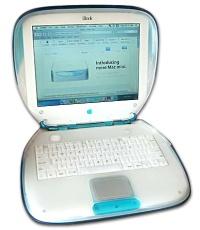 Fotografía de la computadora iBook