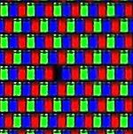 Imagen de un pixel muerto de un monitor