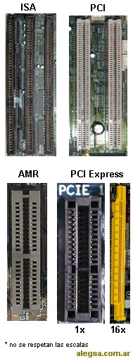 Imagen de diferentes tipos de zócalos de expansión