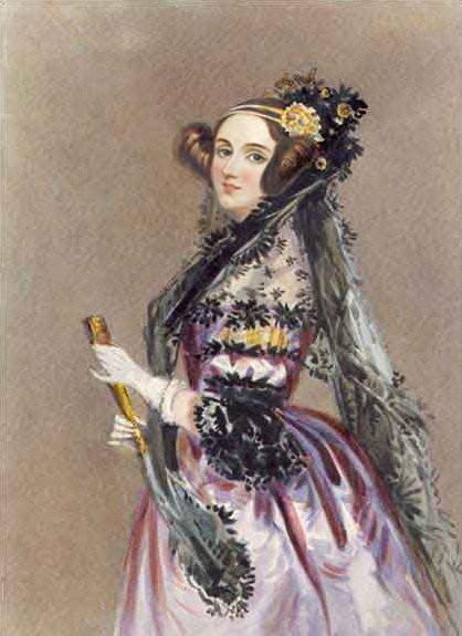 Ada Lovelace (1815-1852), escribió el primer programa de computación de la historia.