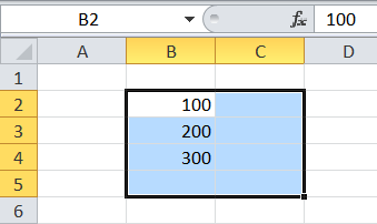 Celda activa en Excel
