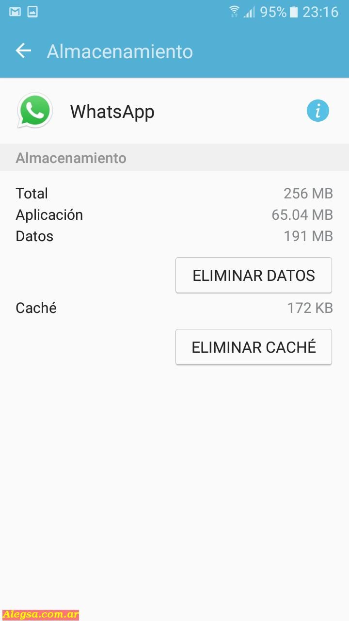 Eliminar DATOS en aplicaciones de Android sí puede ser un problema en determinadas aplicaciones como Whatsapp, Fotos, pero no en otras como Facebook porque este servicio guarda todo en sus servidores.