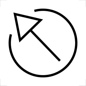 Símbolo ISO para Escape