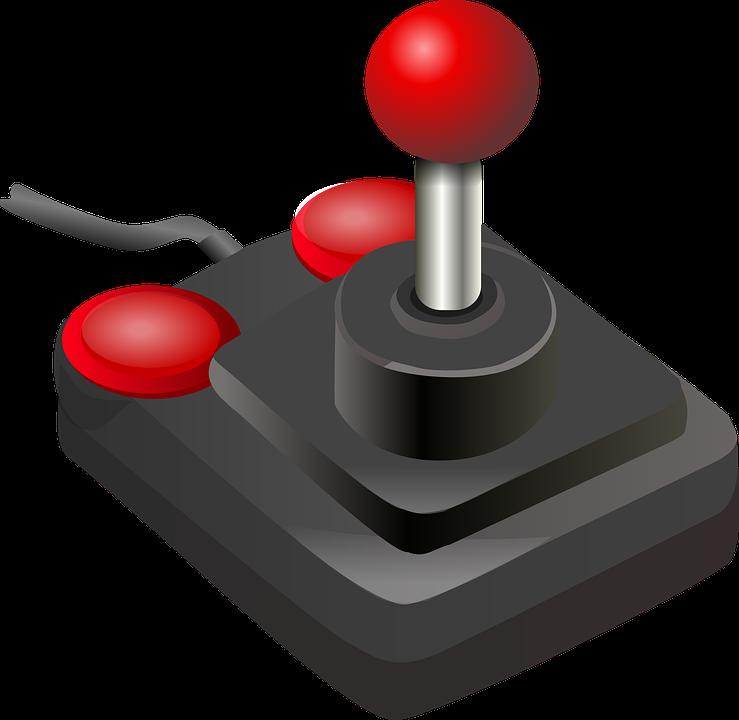 Dispositivo que se conecta con un ordenador o videoconsola para controlar de forma manual