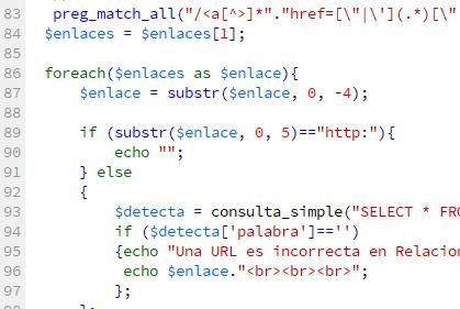 Código fuente en un lenguaje de alto nivel