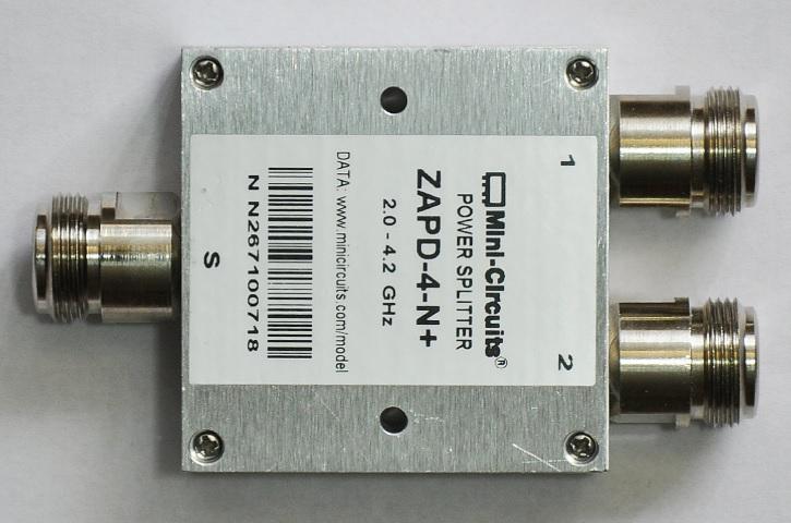 Típico splitter o repartidor de un cable coaxial