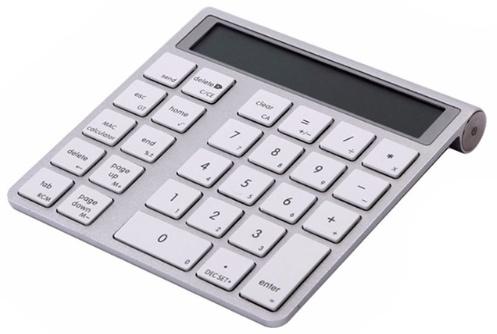 Teclado numérico bluetooth, también calculadora