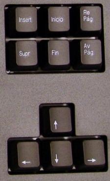 Teclas de cursor