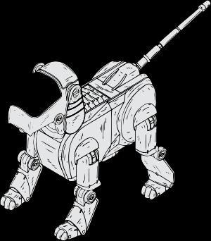 Prototipo de un perro