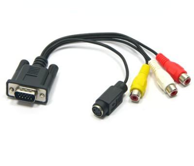 Conversor VGA-RCA-SVideo