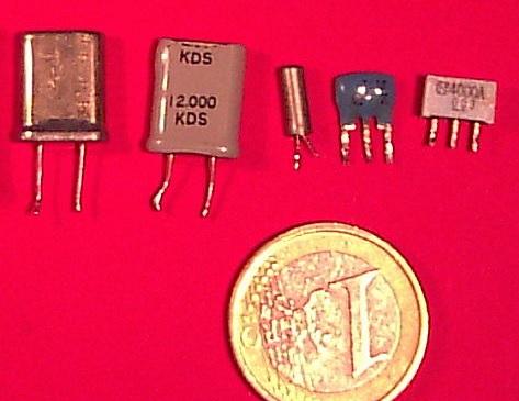 Viejos osciladores de cristal