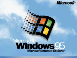 Logo inicio de Windows 95