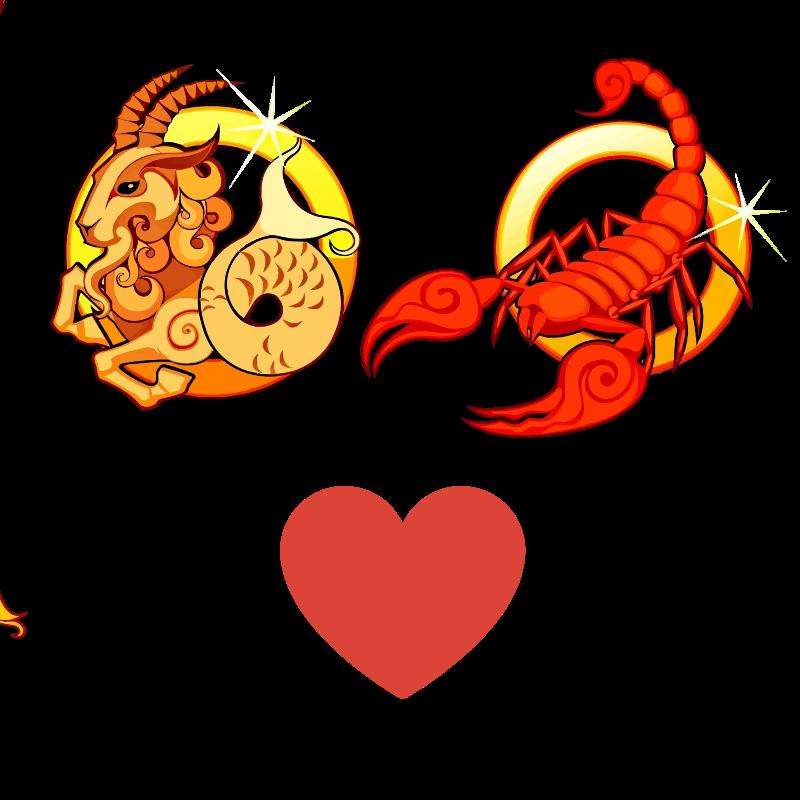 Compatibilidad de amor: Mujer Capricornio y Hombre Escorpio