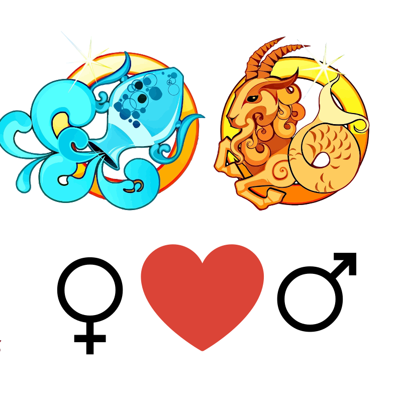 Compatibilidad de amor: Mujer Acuario y Hombre Capricornio