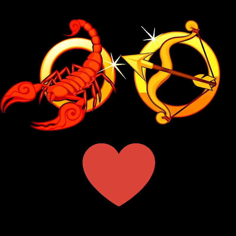 Compatibilidad de amor: Mujer Escorpio y Hombre Sagitario