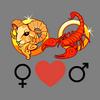 Verenigbaarheid    van de liefdesvrouw van de Ram en de man van de Schorpioen