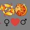 Kærlighed    kompatibilitet Fiskene kvinde og Leo mand