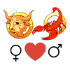 Compatibilidade    entre a mulher Taurus e o homem Escorpião amor