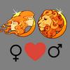 Любовь    совместимость Близнецы женщина и Лео мужчина