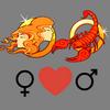 Como    melhorar o casal feminino Gemini e masculino Scorpio