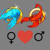 Compatibilità    della donna Cancro e dell'uomo Scorpione