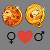 Liefdescompatibiliteit    Leo vrouw en Maagd man