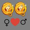 Compatibilità    amore Virgo donna e Virgo uomo