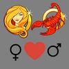 Liebesverträglichkeit    Jungfrau Frau und Skorpion Mann