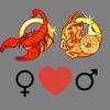 Come    migliorare la coppia Scorpione femminile e Capricorno maschile
