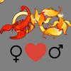 Любовь    совместимость Скорпион женщина и Рыбы мужчина