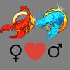 Compatibilità    dell'amore donna di Scorpione e uomo di Cancro