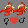 Como    melhorar o casal Escorpião feminino e Escorpião masculino