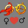 Совместимость    любви женщины Скорпиона и мужчины Стрельца