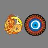 Held    og lykke charms, sten, farver og Lucky Charms for Skytten Zodiac