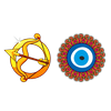 Амулеты,    камни, цвета и предметы удачи для зодиака Рыбы
